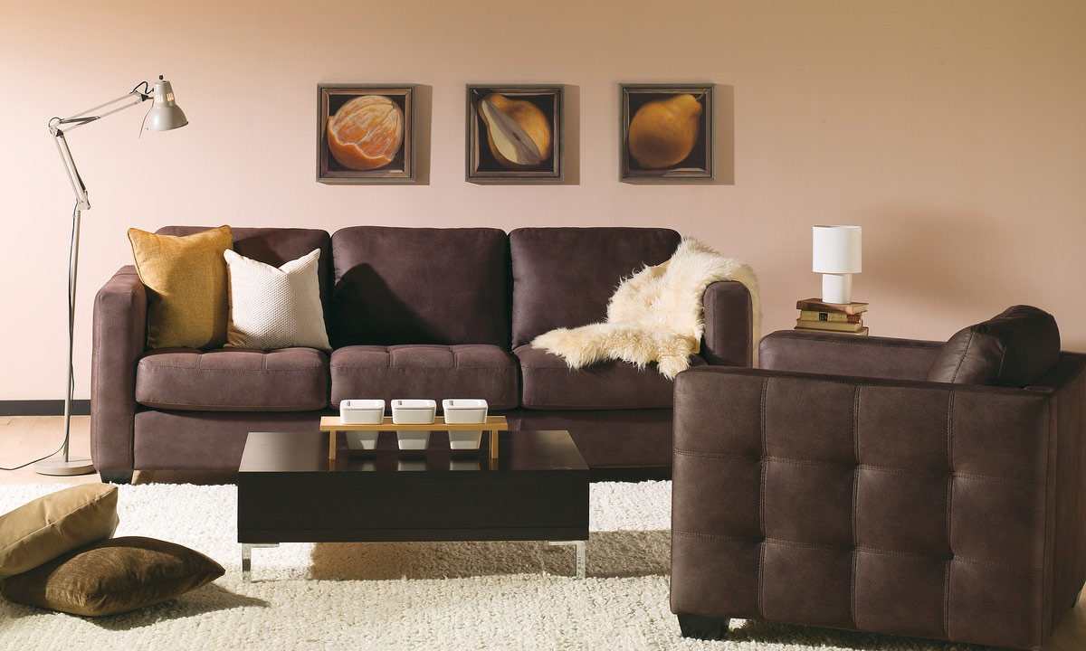 Barrett leather sofa leather express furniture for Sofa express leather sectional