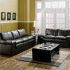 Polluck Leather Sofa Room