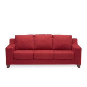Reed Sofa Red