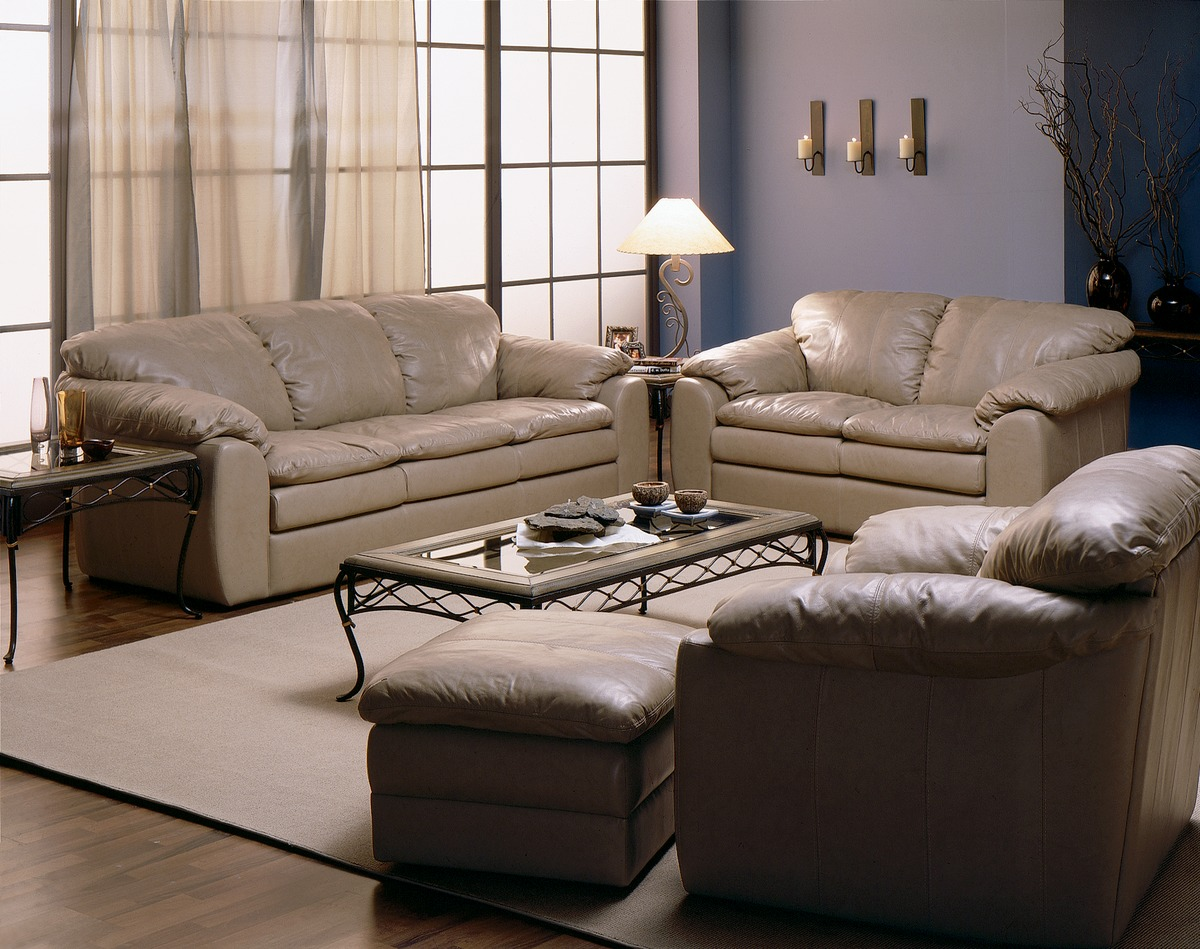 Furniture Express: Shanelle Leather Sofa · Leather Express Furniture