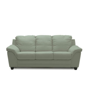 Sirus Leather Sofa Mint