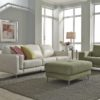 Zuri Leather Sofa Room