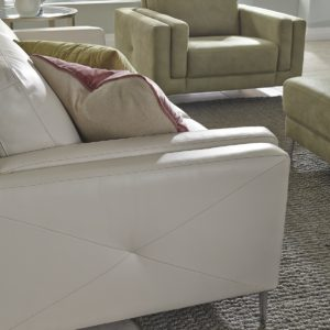 Zuri Leather Sofa Detail