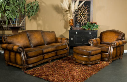 Old World Style Sofas Longford Leather Old World Style