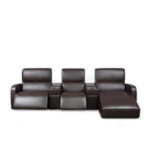 Bari Leather Sectional