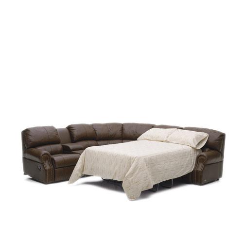 Charleston Leather Sleeper