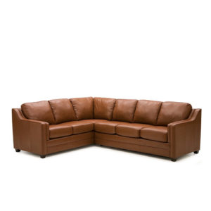 Corissa Leather Sectional