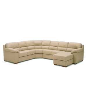 Cypress Leather Sectional