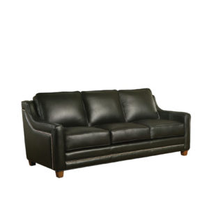 Fifth Avenue Leather Sofa