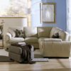 Lanza Leather Sectional Room