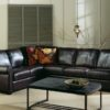 Magnum Leather Sectional Room