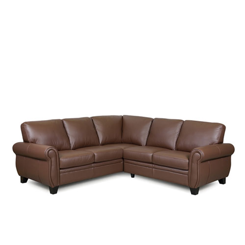 Meadowridge Leather Sectional