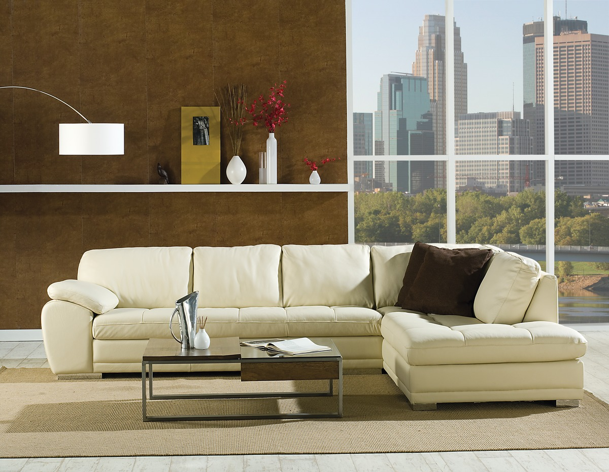 Miami Leather Sectional · Leather Express Furniture