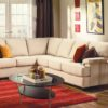 Morehouse Leather Sectional Room
