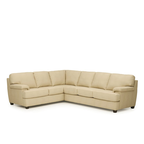 Morehouse Leather Sectional