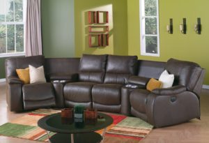 Norwood Home Theater Seating Room