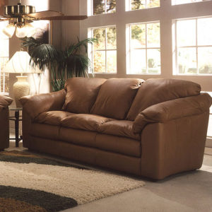 Oregon Leather Sofa