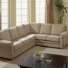 Viceroy Leather Sectional White Room