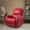 Yates Leather Recliner Room