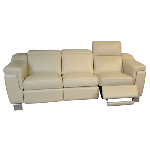 Omnia Delano Reclining Leather Sectional