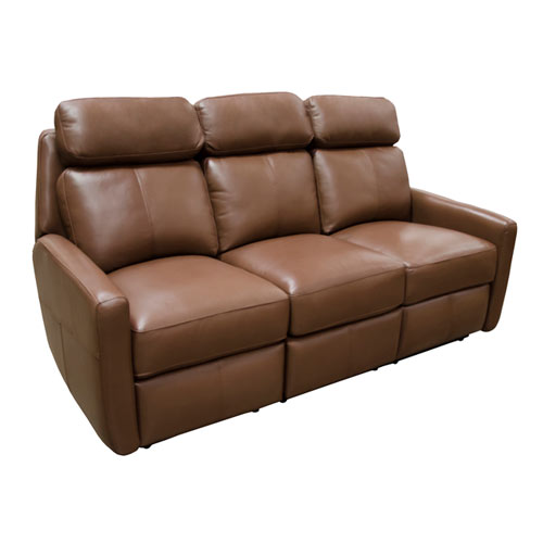 Riverside sofa Leather Reclining Furniture by Omnia