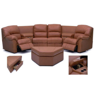 Tracer Reclining leather furniture by Palliser