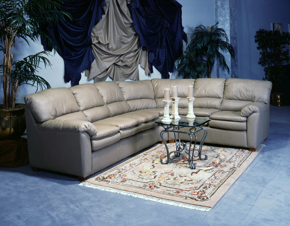 Vegas Leather Sectional Leather Express Furniture
