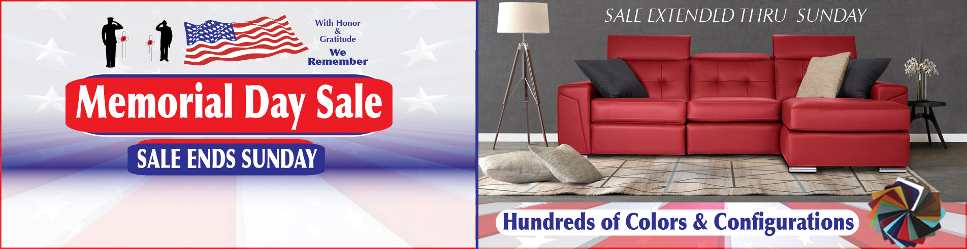 Leather Express Furniture Savings - Storewide Sale