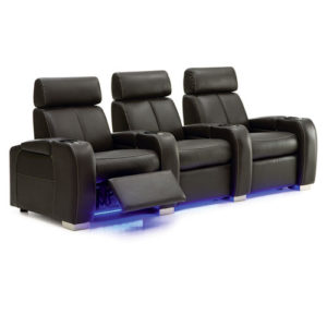 LeMans Leather Home Theater Seating
