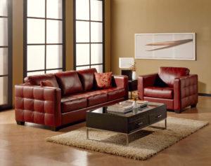 Barrett Sofa Room Red