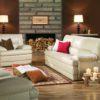 Northbrooke Leather Sofa Room