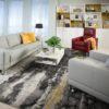 Seattle Leather Sofa Room