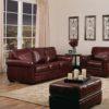 Thompson Leather Sofa Room