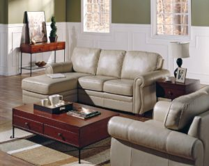 Viceroy Leather Sofa White Room