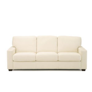 Westend Leather Sofa White