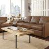 Westside Leather Sofa Room