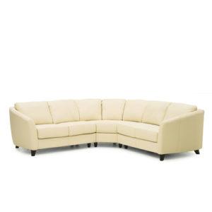 Alula Leather Sectional