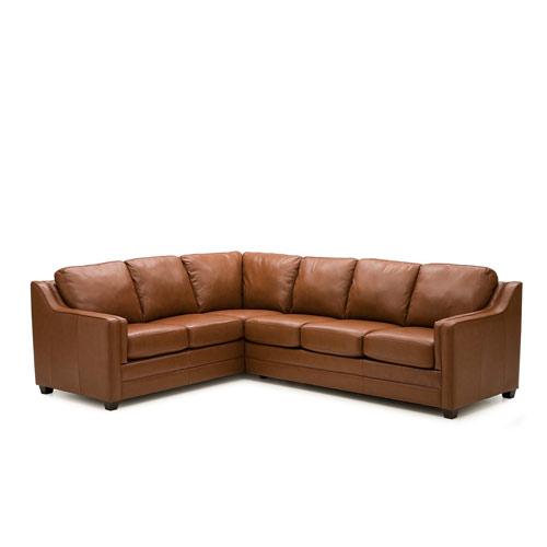 Corissa Leather Sectional