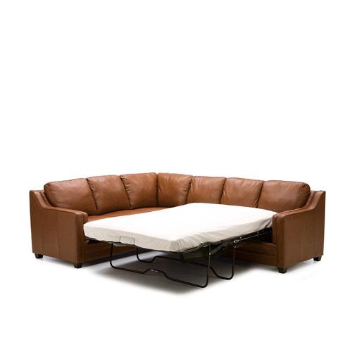 Corissa Leather Sleeper