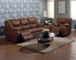 Dugan Reclining Sofa Room