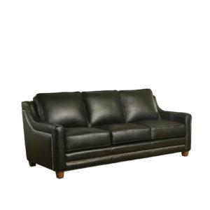 Fifth Avenue Leather Sofa