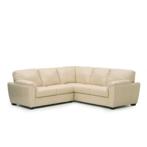 Lanza Leather Sectional