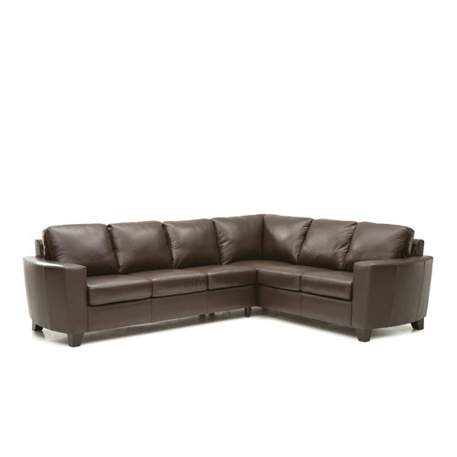 Leeds Leather Sectional
