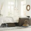 Roommate Leather Sleeper Room