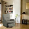 Theo Leather Recliner Room