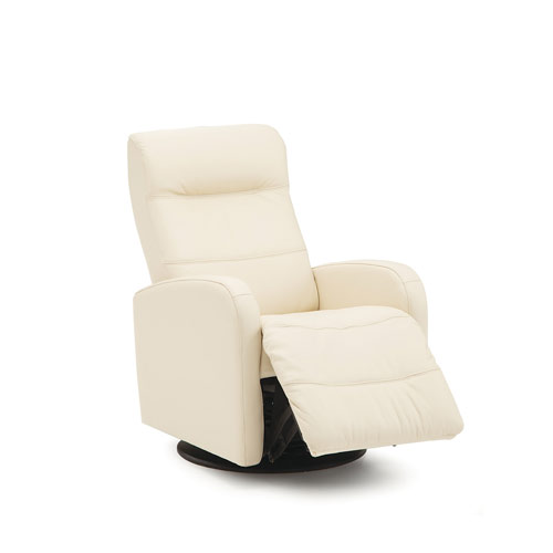Valley Forge Leather Recliner