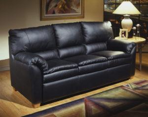 Vegas Leather Sofa Room