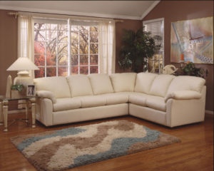 Tahoe Leather Sectional Room