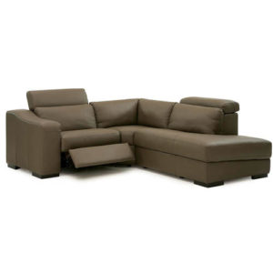 Cortez Leather Sectional