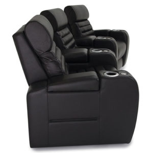Side view of Catalina Home Theater Seating